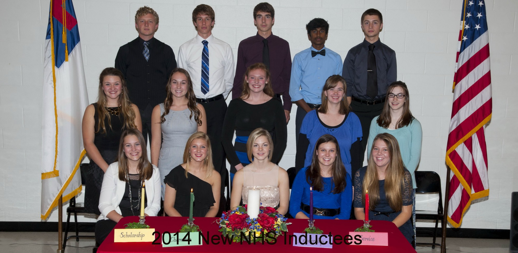 NHS inductees 2014